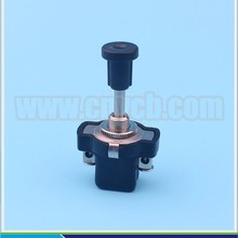 AS04 IBA-05-7 SPST 2P 30VDC Auto Universal Car Push Lever Action ON/OFF With Screw Terminals push Pull Switch