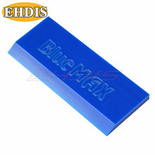 EHDIS Rubber Squeegee Spare Blade BLUEMAX Scraper Car Window Glass Squeegee Ice Wiper Tools Snow Vinyl Film Sticker Wrap Remover(China)