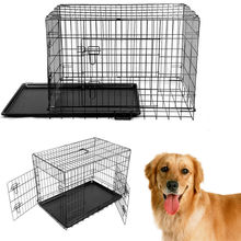 2016 Rushed Time-limited Flue Type Lgp Ce Csa Newx-large 48'' Collapsible Metal Pet Puppy Dog Cage Crate Tray Kennel Portable