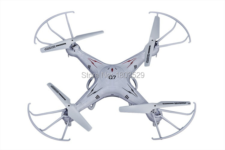 New 2.4G 4ch mini toy RC quadcopter kit FY326 Q7 RC Helicopter Remote Control Dornes RC Helicoptero children's gift kid Toys UFO
