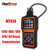 Universal OBD2 OBDii ECU ABS SRS Transmission and Engine Diagnostic Tool NT414 Escaner Multi Languages Better than Autel MD802