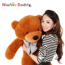 High quality Low price Plush toys large size 80cm / teddy bear 0.8m/big embrace bear doll /lovers/christmas gifts birthday gift