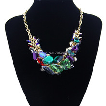 Fashion Brand Resin Pendants Necklaces Wholesale Women Necklaces & Pendants Jewelry Name Statement Necklace For Women