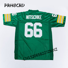 Retro star #66 Ray Nitschke Embroidered Throwback Football Jersey(China)