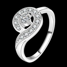 Ring Silver Plated Ring sterling-silver-jewelry ring factory prices Inlaid stone whistle Ring /AYARVZZA TZCXHSGE(China)