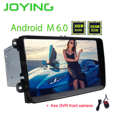 JOYING NEW HD 9inch android 6.0 car head unit for VW Jetta Polo 2 din car radio for Skoda Rapid Fabia with free DVR front camera(China)