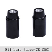 E14 CE/CQC Bakelite Lamp Holder Retro E14 Screw Bulb Lamp Socket Vintage Edison Pendant Light Lamp Bases Self Lock 6PCS/Lot
