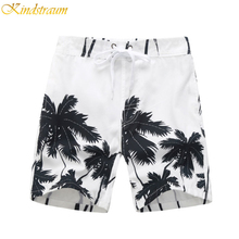 Kindstraum Boys Surf Shorts 2017 New Summe Cool Boardshorts Swim Sports Quality Coconut trees Short Pants for Kids,MC021