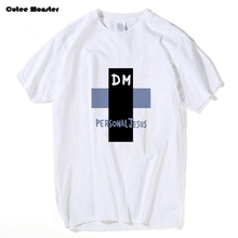 Personal Jesus T shirt Men Cross DM T-shirt Male Depeche Mode Tees 2017 Summer Short Sleeve Music Band Top Clothing 3XL