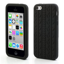 Cheap Cases for Apple iPhone 5C 5s 5 SE,Tire Tread Flexible Silicone Soft Cover Case for iPhone 5 5S SE 5C 6 6S