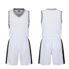 Custom cheap blank basketball  jersey wholesale throwback basketball jerseys best polyester kits LD-8102
