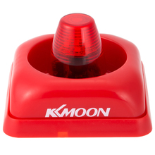 KKmoon ABS Wired Fire Alarm Siren Sound & Flash Light Alert Horn 105dB For Home Office Hotel Security System