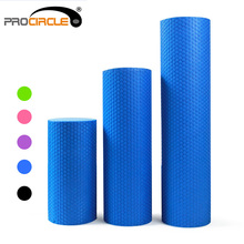 ProCircle Foam Roller EVA Floating Point Solid Accupoint Massage Fitness Muscle Tissue Yoga Pilates Rollers(China)