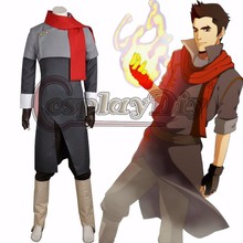 Custom Made Avatar The Legend of Korra Season Two Mako Cosplay Costume Fancy Party Halloween Clothing D0604