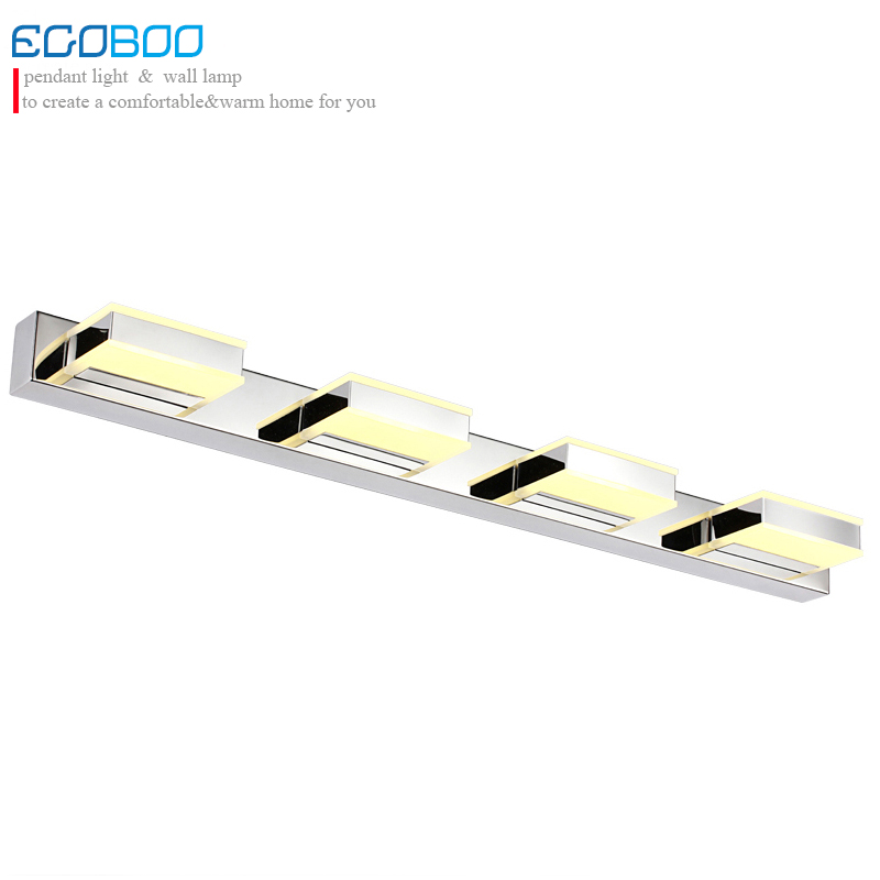 bathroom mirror light 16w 68cm long acrylic material LED lampshade indoor home decorative lighting lamp 100-240v ac
