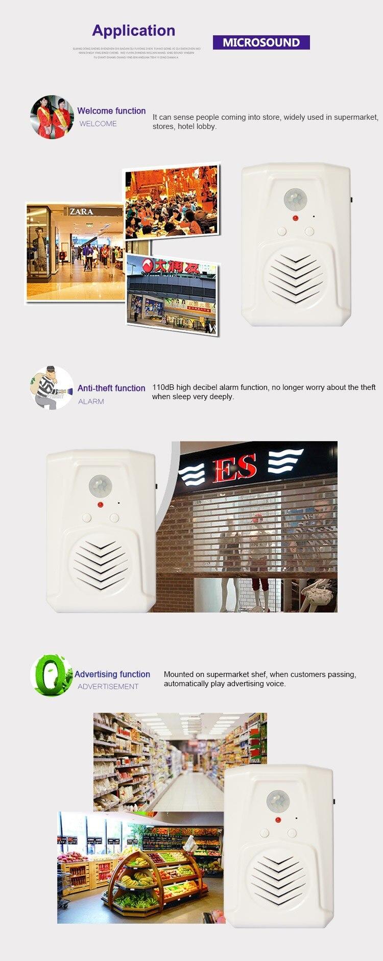 PIR sensor doorbell
