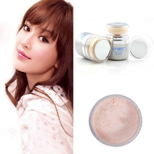 Shimmer 2 In 1 Facial Make-up Powder Pure Mineral Power Foundation Sponge
