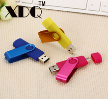 2017 Fashion Pen Drive otg USB 2.0 memoria 32GB 64GB 128GB USB Flash Drive 8GB 16GB Swivel OTG Pendrive usb flash memory stick