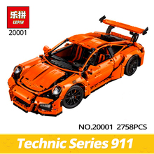 Lepin Technic 20001 2758PCS  911 DIY Car Model Building Kits Blocks Bricks Compatible With 42056 boy's toy Educational gifts