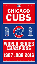 Chicago Cubs World Series Champion 1907 1908 2016 Baseball Team Sports Products Flag Flag Banner 90*150CM(China)