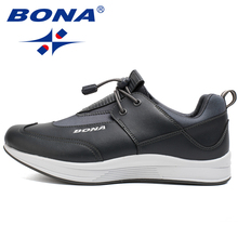 BONA New Classics Style Men Walking Shoes Outdoor Jogging Athlertic Shoes Comfortable Sport Shoes Men Soft Fast Free Shipping