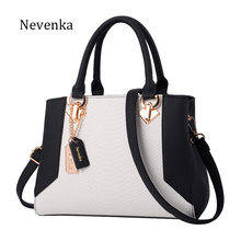 Nevenka Women Handbag PU Leather Bag Zipper Crossbody Bags Lady Bag High Quality Original Design Handbags Top-Handle Bags Tote