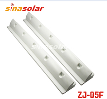 White ABS 680mm Side Solar Panel Mounting Bracket Spolier For Caravan Motorhome RV(China)