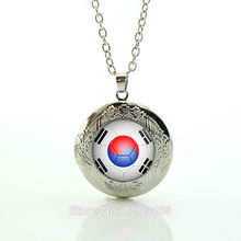 South Korea football team logo Football Teams Jewelry Leisure series essential Classic Collection Personalized gift for men N514(China)
