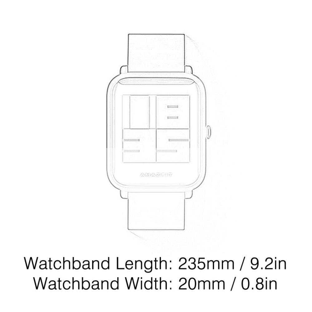 Xiaomi AMAZFIT Smartwatch GPS Smart Watch International Bluetooth Wristwatch Heart Rate Monitor Watch Fitness Activity Tracker