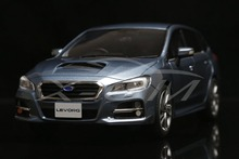 Resin Car Model Kyosho samurai Subaru Levorg 1.6 GT-S Eyesight 1:18 (Blue) +GIFT