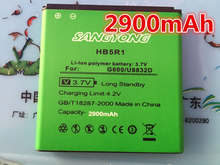 New Arrivals 2900mAh HB5R1 Battery Use for Huawei Ascend G500D G600 P1 LTE 201HW Panama U8520 U8832 U8832D U8836D U8950 U8950D