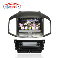 Bway Android 6.0 car Radio for CHEVROLET CAPTIVA 2012 car dvd player 1024*600 2 din in dash car audio External MIC