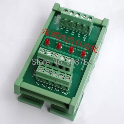 convert board breakout board Optocoupler isolation plate signal polarity conversion plate NPN and PNP arbitrary conversion<br><br>Aliexpress