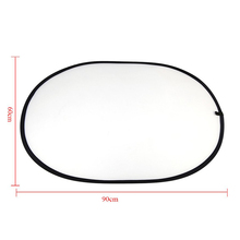 CES- 60 * 90cm Multi Portable Folding Transparent Ellipse Handheld Light Reflector for Photography(China)