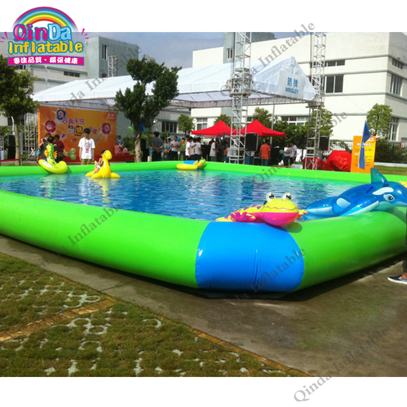 above ground inflatable swimming pool53