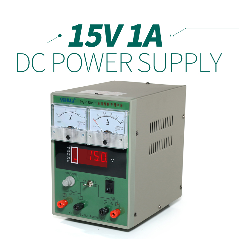 Portable YIHUA-1501T 25w Solder Station Variable Voltage  Power Supply 110 / 230 / 240 Volt<br>