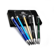 Wholesale corporate gifts ideas 300pcs a lot customized with your logo and artwork ball pens Chritmas gifts for clients
