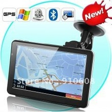 7 Inch Touchscreen GPS Navigator and DVR (8GB, Bluetooth, FM Transmitter)