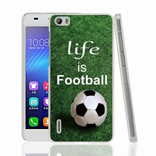 00841 football is life cell phone Cover Case for huawei honor 3C 4A 4X 4C 5X 6 7 8 mate V8 Y6