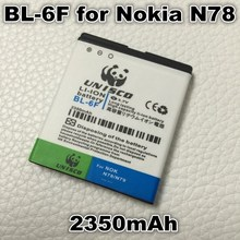 2350mAh BL-6F Li-ion Polymer Battery For Nokia N95(8G) N78 N79 6788 6788I BL 6F BL6F Replacement Phone Bateria Betteries