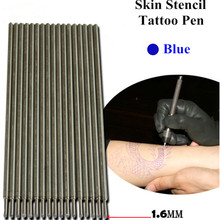 20pcs Blue Tattoo Skin Marking Pens For Tattoo Stencil Outline Supply  TA-111-BE