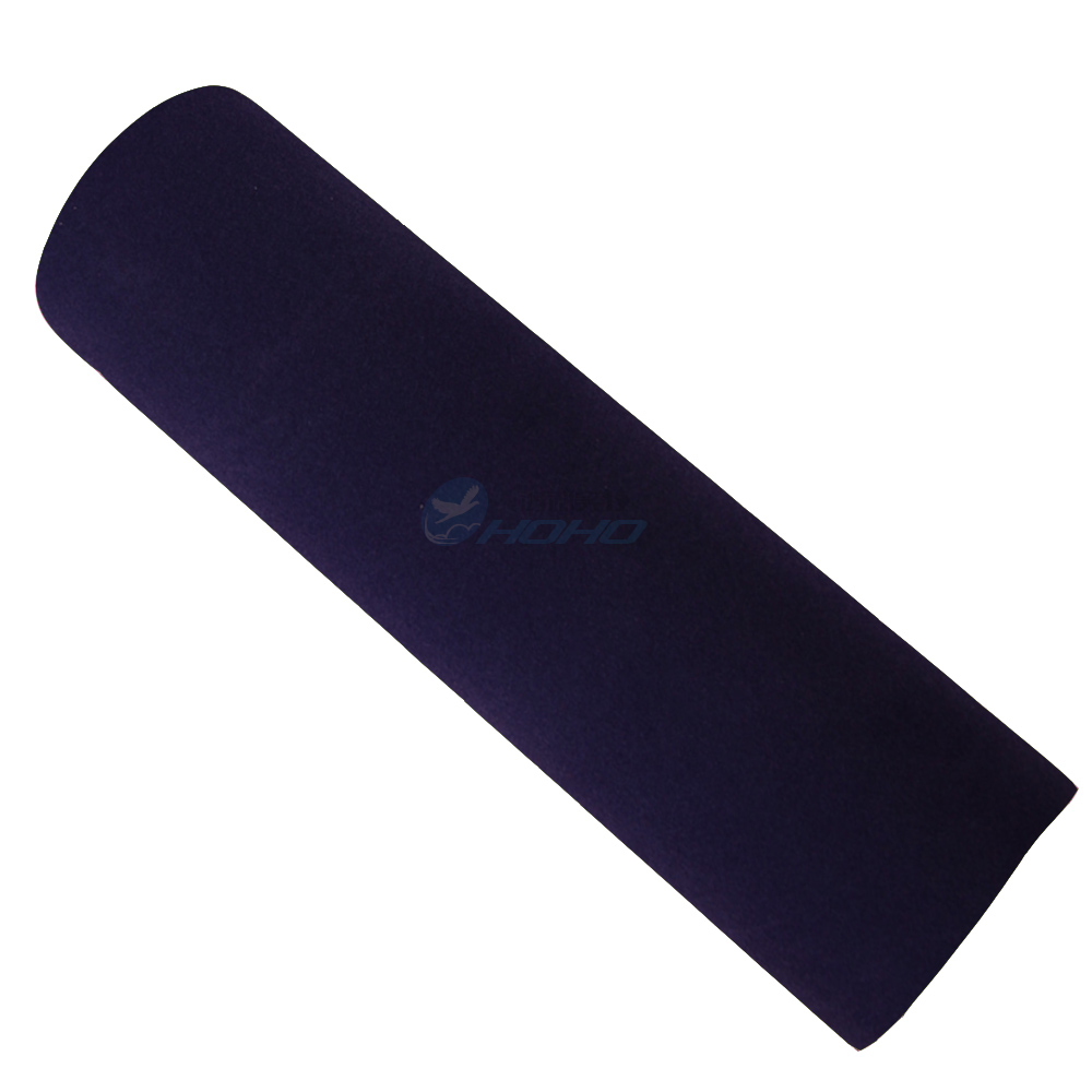 SU-06 -suede fabric blue