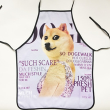 Personality Sleeveless apron Funny Apron Dog design christmas gift for friend 56*72cm Free shipping