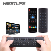 VBESTLIFE MX3 Air Mouse Portable 2.4G Wireless Remote Control for Smart TS3V Android TV box mini PC HTPC Keyboard Controller