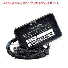 2016 Newest design Truck Adblue Emulator 8 in 1 super quality promise adblue 8 in 1 with Programing Adapter fast delivery(China)