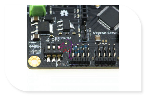 Veyron 24 Channel Servo/Motor Driver/controller STM32F103 chip Integrated wireless Bluetooth Xbee APC220 interface for arduino<br>