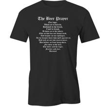 2017 New Summer T-shirts Beer Prayer T-Shirt Alcohol Lager Lovers Funny T-shirt New Brand Tees(China)