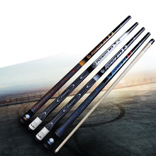 New Arrival X2 Maple Pool Cues Billiards 11.5mm Tip White/Blue/Black/Orange Colors China 2017