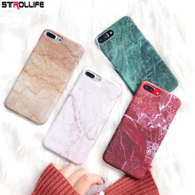 Buy STROLLIFE Fashion Marble Phone Cases iPhone X 6 6s 7 7Plus Coque Ultra Slim Matte Hard Shell Cover iPhone 8 8Plus Fundas for $1.37 in AliExpress store