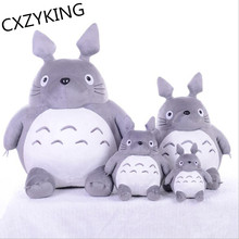 CXZYKING 20/30CM Cartoon Stuffed My Neighbor Totoro Plush Toys Gifts Toys For Children Soft Toy For Kids Gift Animation Doll Toy(China)